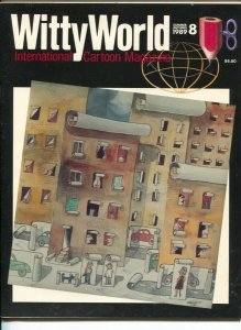 Witty World #8 1989-International Cartoon Magazine-Hagar-Dik Browne-Phil Yeh-FN/