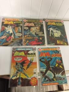 Brave And The Bold 101 103 104 100 500 607 108 110 4.0-6.0 (103 Is 2.0) Vg-Fine
