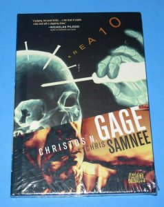 Area 10 HC Book MINT!!~SEALED!! Gage Samnee DC/Vertigo Graphic Mystery Crime