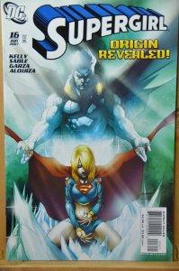 Supergirl #16 (2007) Origin Revealed !