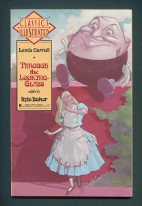 Classic Illustrated #3 (Lewis Carroll: Through the Looking Glass)  NM+  1990