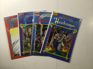 Hawkman Runestuff 1-4 Mad Gods Amulet 1-4 And More Lot Near Mint First Comics