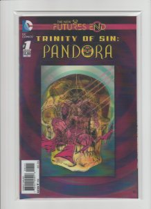 Futures End Trinity of Sin: Pandora #1 NM 9.4 (2014, DC) 3-D Cover!!