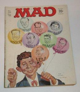 Mad Magazine #122 Mort Drucker & Norman Mingo Cover Oct 1968 EC Publications FN