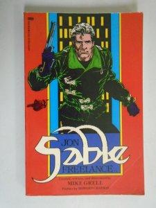 Jon Sable Freelance TPB SC 4.0 VG (1987 First Publishing)