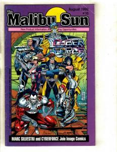 6 Comics Malibu Sun 16 Stupidman 1A Gumby's 1 Henry V 1 Real Ghostbusters + NP8