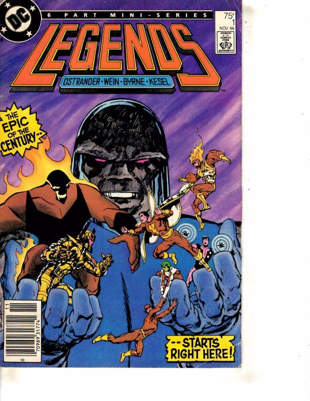 Legends # 1 VG/FN DC Comic Book 1st Amanda Waller Flash Batman Superman J254
