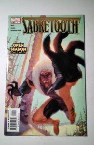 Sabretooth: Open Season #1 (2005) Marvel Comic Book J753