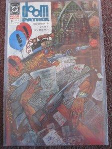 *Doom Patrol (DC, '87) #31-44. Grant Morrison. 1st App & Origin Flex Mentallo