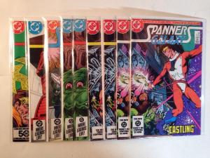 Spanners Galaxy 1-6 Complete Near Mint Lot Set Run Doubles # 1 2 3