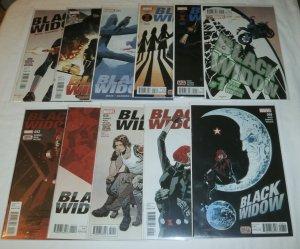 Black Widow   vol. 7 (2016)   #1-6,8-12 (set of 11) Waid/Samnee
