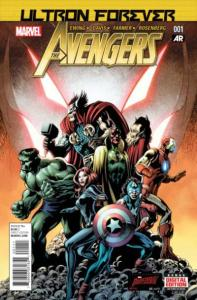 Avengers (2013 series) Ultron Forever #1, NM + (Stock photo)