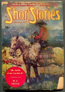 Short Stories Pulp February 25 1949- Hashknife- WC Tuttle G