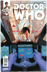 DOCTOR WHO #7 A, NM, 11th, Tardis, 2014, Titan, 1st, more DW in store, Sci-fi