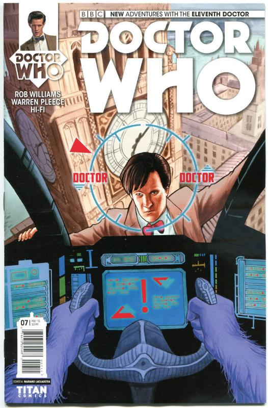 DOCTOR WHO #7 A, VF/NM, 11th, Tardis, 2014, Titan, 1st, more DW in store, Sci-fi