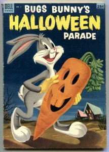 Bugs Bunny Halloween Parade #1 1953- Dell comics VG