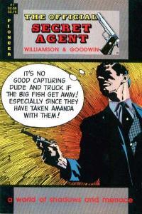 Official Secret Agent #1, VF (Stock photo)