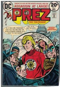 PREZ (1973) 3 VG  Jan. 1974
