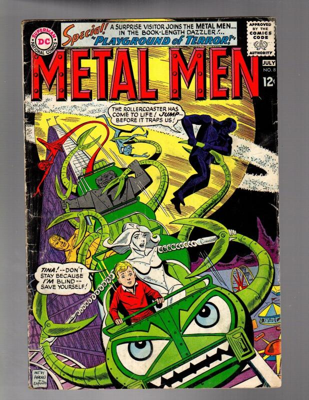METAL MEN 8 GOOD-VERY GOOD   July 1964