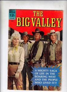 Big Valley, The #1 (Jun-66) FN/VF Mid-High-Grade Barbara Stanwyck