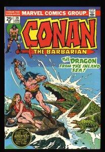 Conan The Barbarian #39 NM- 9.2 Marvel Comics