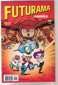 FUTURAMA #59, NM, Bongo, Fry, Bender, Leela, Professor Farnsworth, more in store