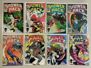 Power Pack lot 20 different from #2-56 avg 7.0 FN VF (1984-90 1st Series)