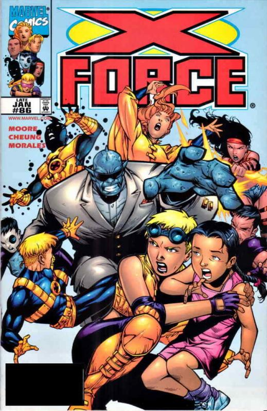 X-Force #86 FN; Marvel | save on shipping - details inside