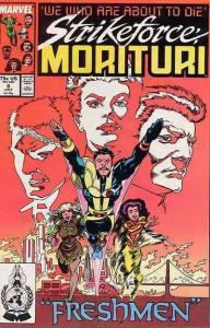 Strikeforce: Morituri #8 FN; Marvel | save on shipping - details inside
