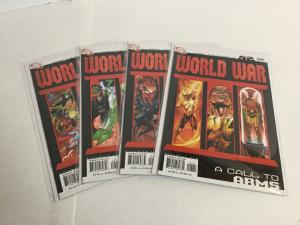 World War III 1-4 Lot Set Run 52 Nm Near Mint DC Comics A50