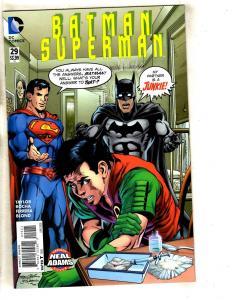 Batman Superman # 29 NM 1st Print Neal Adams Variant Cover DC Comic Book TW64