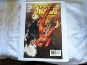 05 MARVEL COMIC THE NEW AVENGERS # 4