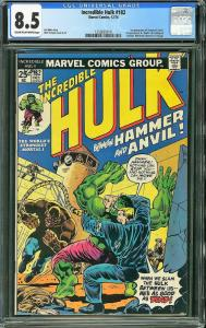 Incredible Hulk #182 (Marvel, 1974) CGC 8.5