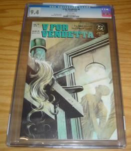 V For Vendetta #6 CGC 9.4 alan moore - david lloyd - dc comics 1989
