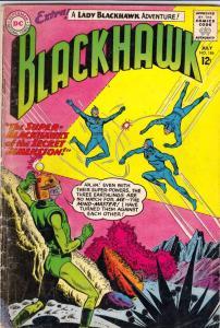 Blackhawk #186 (Jul-63) VG+ Affordable-Grade Black Hawk, Chop Chop, Olaf, Pie...