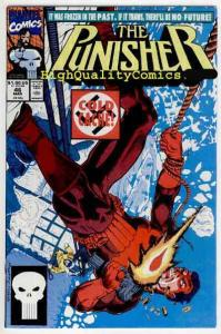 PUNISHER #46, NM+, Mike Baron, Cold Cache, Blood, 1987, more in store