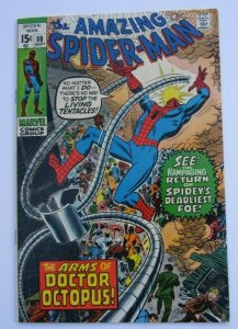 Amazing Spider-Man #88 VF- Doctor Octopus App. Marvel Bronze Age Comic 1970