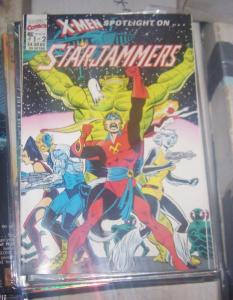 X-Men Spotlight on.. Starjammers #1 (1990, Marvel) SHI'AR+ BINARY CAROL DANVERS*