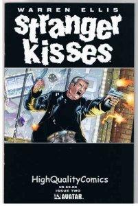 STRANGER KISSES #2, NM+, Warren Ellis, Avatar, 2000, more in store