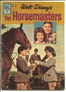 Horsemasters-Four Color Comics #1260 1962-Walt Disney-Annette-Tommy Kirk-VG