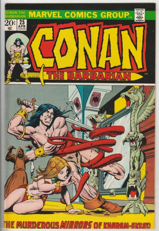 Conan the Barbarian #25 (Apr-73) NM- High-Grade Conan the Barbarian