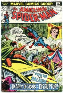 Amazing Spider-Man #117 1973-MARVEL COMICS-DISRUPTOR FN.