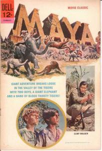 MAYA MOVIE CLASSICS VG+ 1966 COMICS BOOK