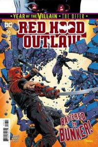Red Hood: Outlaw #36, NM + (Stock photo)