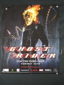 Ghost Rider Video Game Marvel Promo Poster 24x20