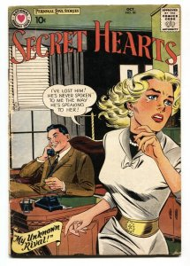 SECRET HEARTS #50 comic book 1958-DC ROMANCE Great cover g