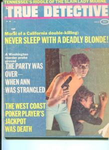 TRUE DETECTIVE-7/69-DEADLY BLONDES-PARTY OVER-POKER JACKPOT G/VG