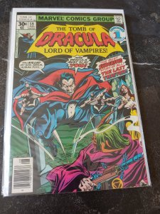 THE TOMB OF DRACULA #59 VF/NM