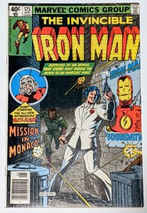 Iron Man #125 (Aug 1979, Marvel) VF- 7.5 Ant-Man & Avengers app Mayor Ed Koch