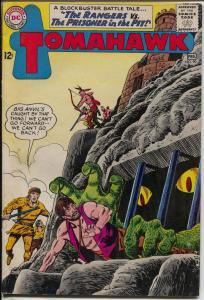 Tomahawk #90 1963-DC-horror cover & story-dinosaur-FN+